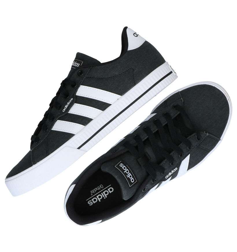 adidas Daily 3.0 Grijze Sneakers in stof (276428)