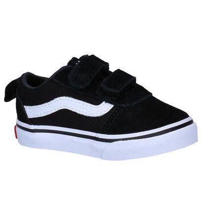 Zwarte Lage Skateschoenen Vans Ward , Zwart, pdp