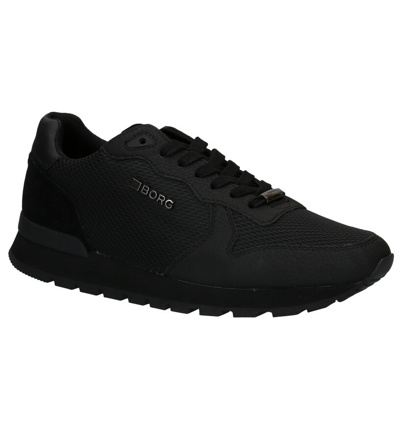 Björn Borg Low KPU Baskets en Noir en simili cuir (278510)