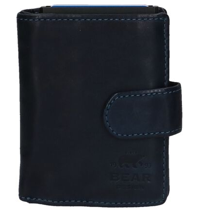 Bear Design Donkerblauwe Kaartenhouder, Blauw, pdp