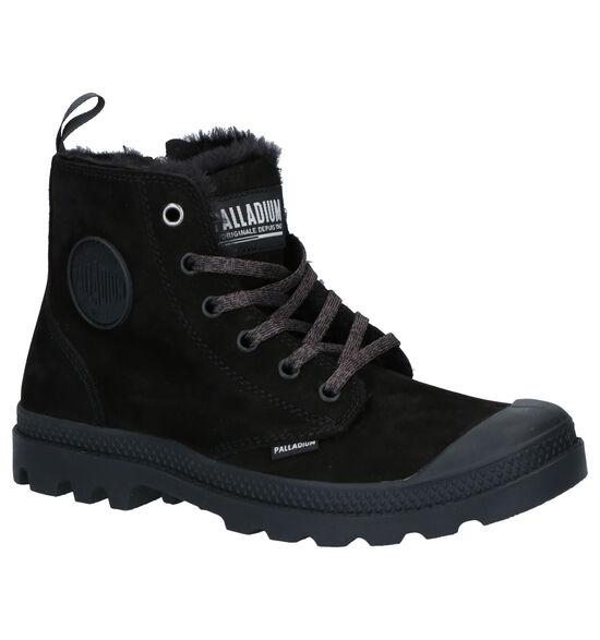 Palladium Pampa Hi Zwarte Boots