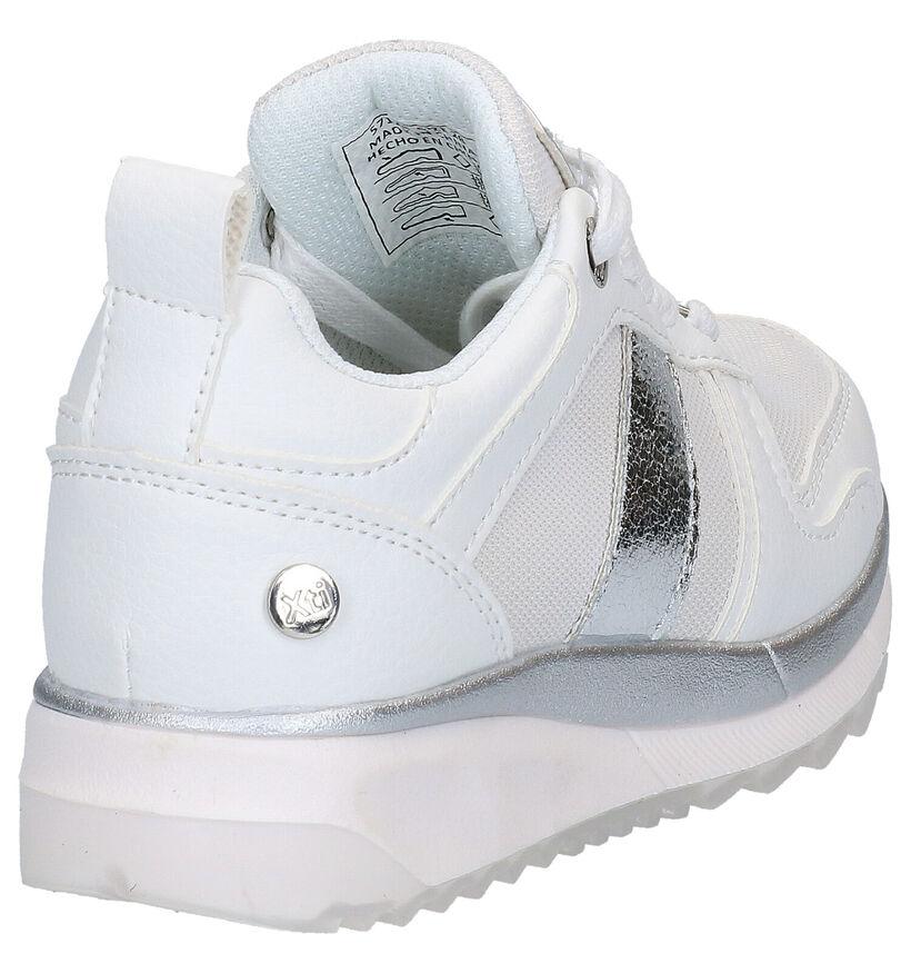 Xti Kids Beige Sneakers in kunstleer (281198)