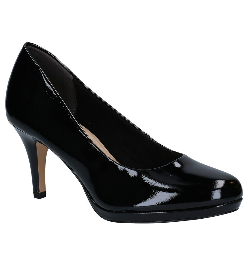 Tamaris Touch it Zwarte Pumps in kunstleer (280728)