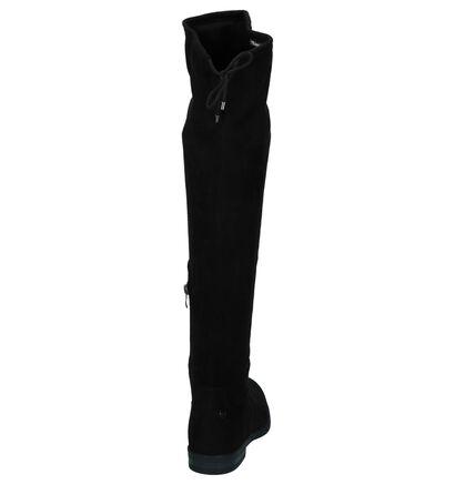 Zwarte Lange Laarzen met Stretch Tamaris TOUCH it in stof (226806)