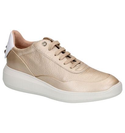 Geox Rubidia Witte Sneakers in leer (266840)
