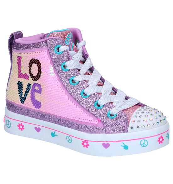 Skechers Twilites Roze Sneakers