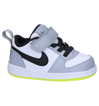 Babysneakers Nike Court Borough Wit, Wit, pdp
