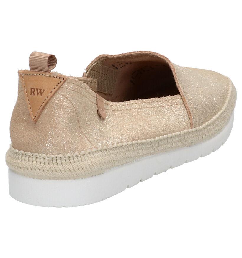 River Woods Chaussures slip-on en Or en nubuck (275665)