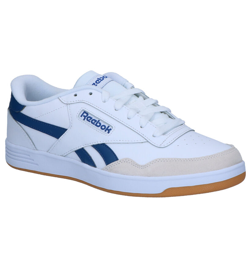 Reebok Royal Techqu Baskets en Blanc en simili cuir (276495)