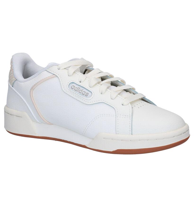 adidas Roguera Baskets en Blanc en cuir (276436)