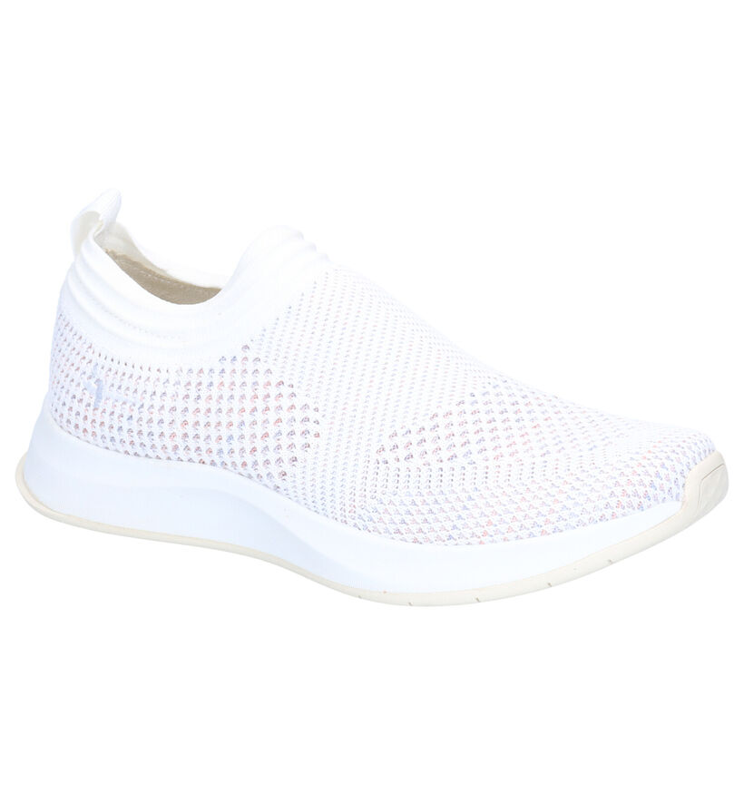 Tamaris Fashletics Sneakers Slip-on en Blanc en textile (269723)