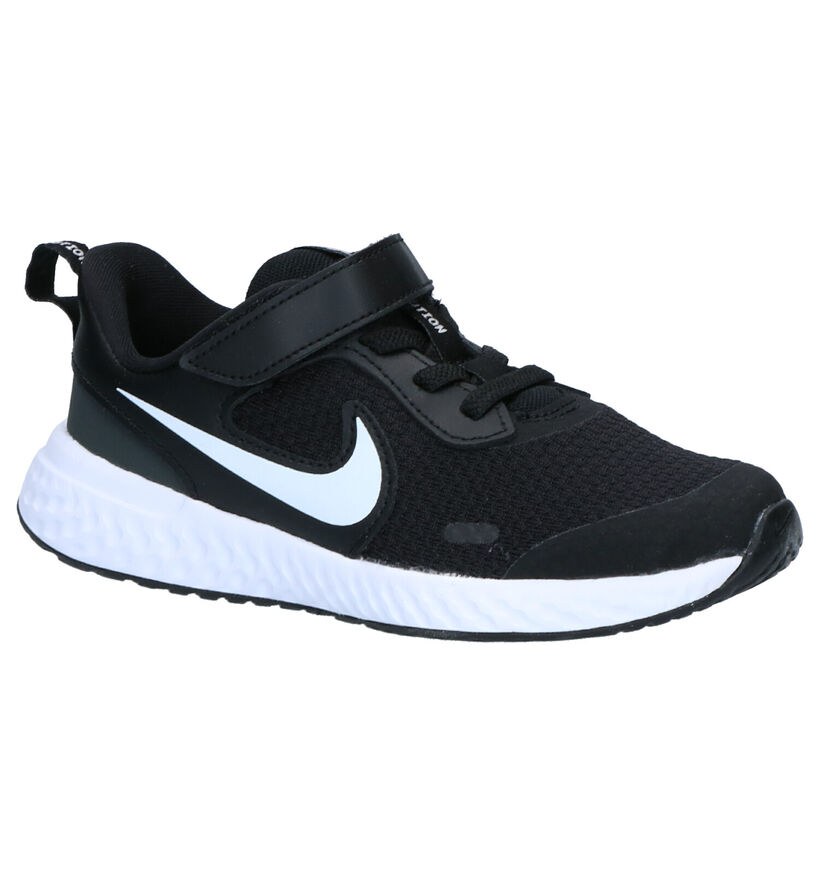 Nike Revolution Blauwe Sneakers in stof (274841)