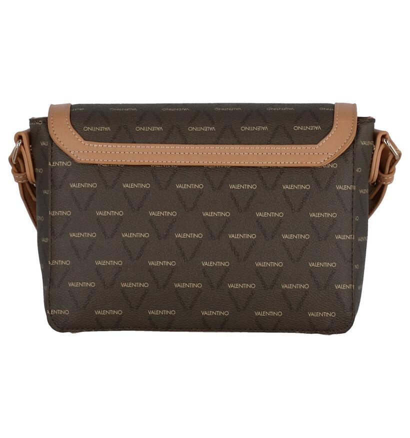 Valentino Handbags Liuto Sac Porté Croisé en Marron en simili cuir (275809)