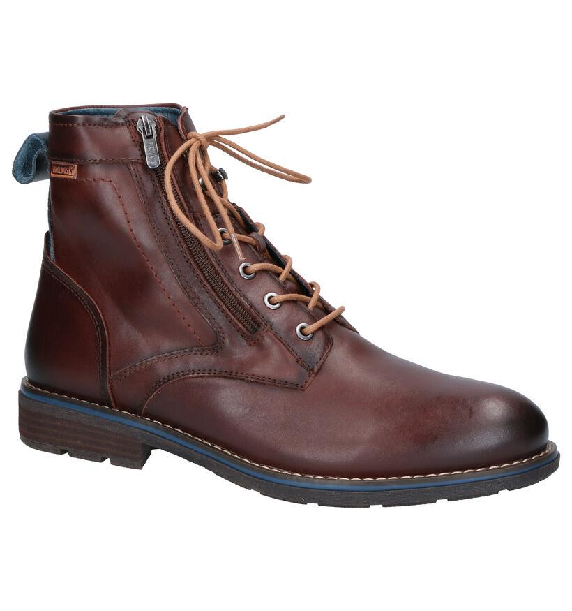 Pikolinos York Chaussures Hautes en Marron en cuir (261422)