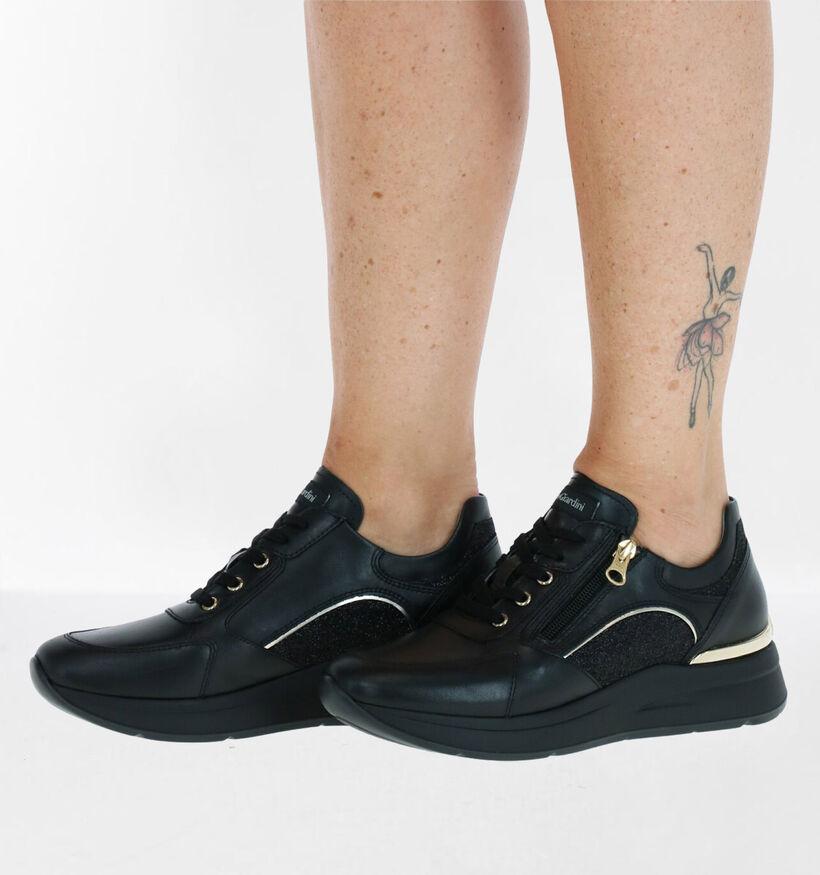 NeroGiardini Chaussures à lacets en Noir en cuir (281740)