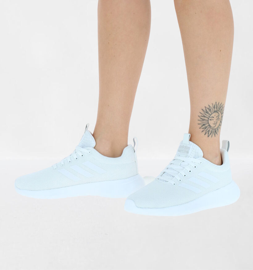 adidas Lite Racer Zwarte Sneakers in stof (273819)