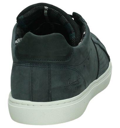 Donker Blauwe Sneaker Bullboxer in nubuck (232540)