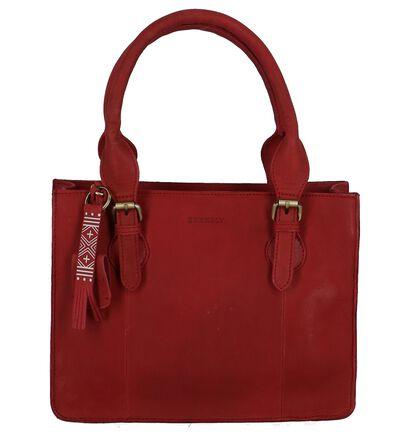 Burkely Sacs à main en Rouge en cuir (249378)