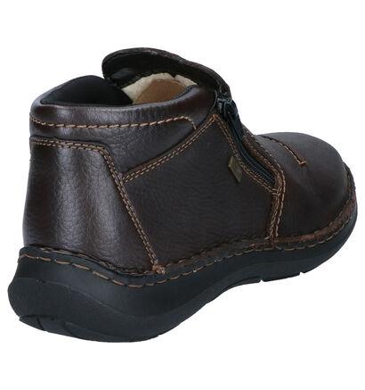 Rieker Chaussures hautes en Brun foncé en cuir (262171)