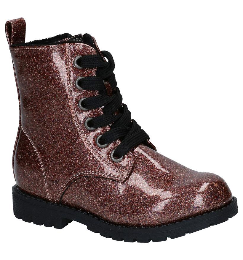 K3 Blauwe Boots in kunstleer (280763)