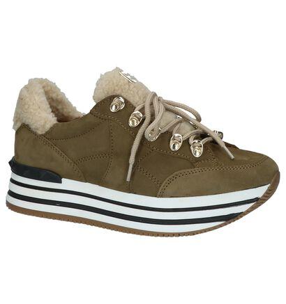 Scapa Kaki Sneakers, Groen, pdp