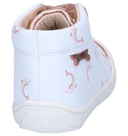 Witte Babyschoentjes STONES and BONES Wave in leer (240785)