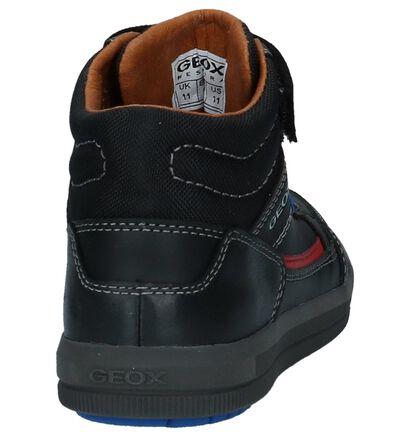 Geox Chaussures hautes en Noir en simili cuir (223190)