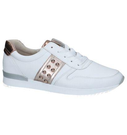 Gabor Best Fitting Chaussures à lacets en Blanc en cuir (245529)