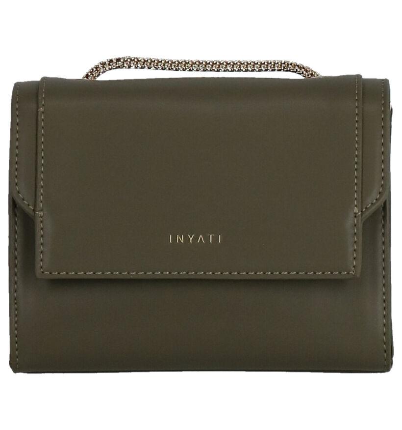 Inyati Eva Vegan Sac porté croisé en Noir en textile (290156)