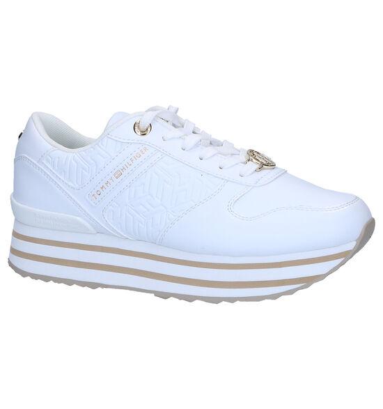 Tommy Hilfiger Flatform Witte Sneakers
