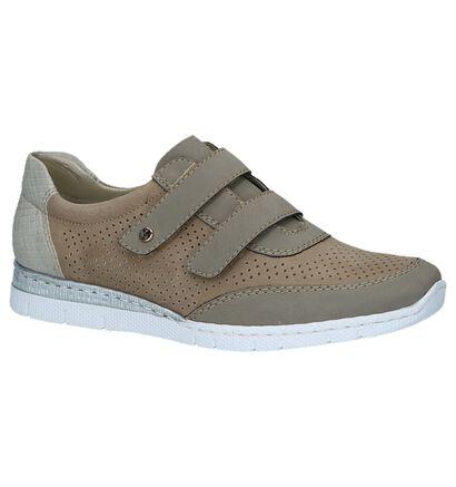 Rieker Chaussures slip-on en Taupe en simili cuir (219778)