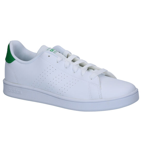 adidas Advantage K Baskets en Blanc