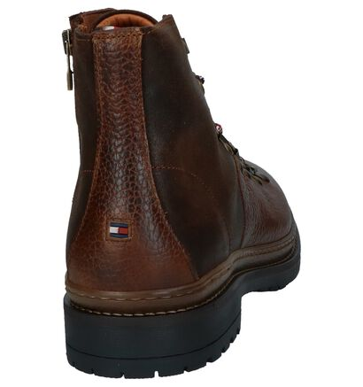 Cognac Boots Rits/Veter Tommy Hilfiger Elevated Outdoor Hiking in leer (225512)