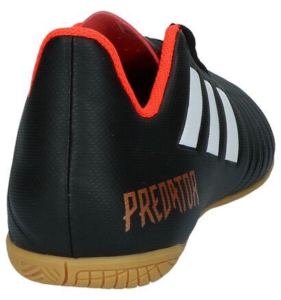 Zwarte Sportschoenen adidas Predator Tango in kunstleer (208203)
