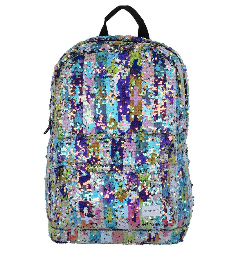 Spiral Sacs à dos en Multicolore en textile (258258)