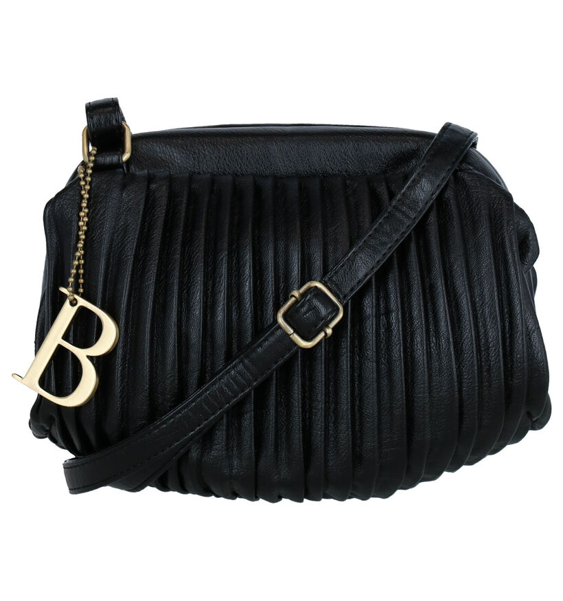 Bulaggi Pleaty Sac porté croisé en Noir en simili cuir (284210)