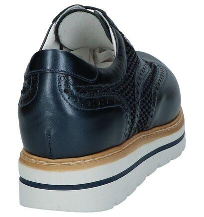 NeroGiardini Chaussures à lacets en Bleu foncé en cuir (211595)