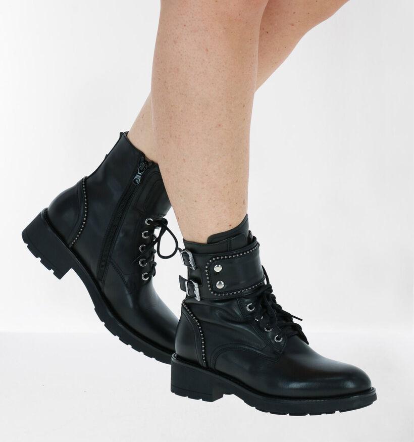 NeroGiardini Zwarte Boots in leer (284015)