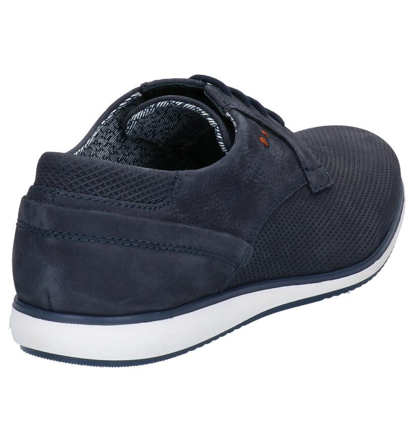 Borgo Sport Chaussures basses en Bleu foncé en nubuck (265949)
