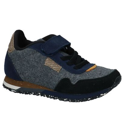 Multicolor Sneakers met Velcro Woden Wonders , Multi, pdp
