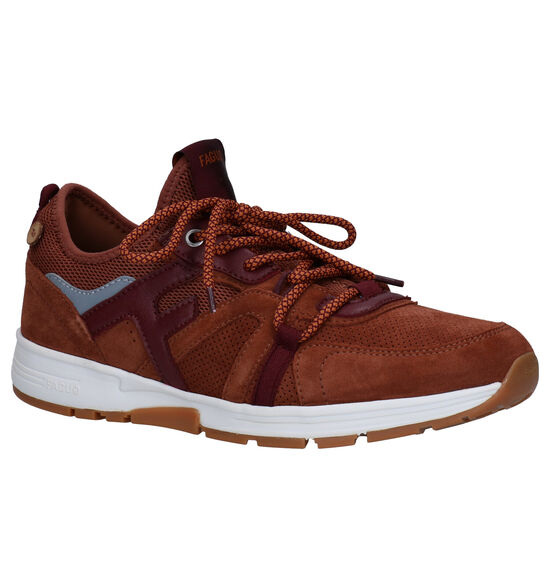 Faguo Willowsocks Cognac Sneakers