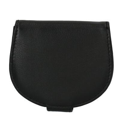 Crinkles Zwarte Geldbeugel in leer (263766)