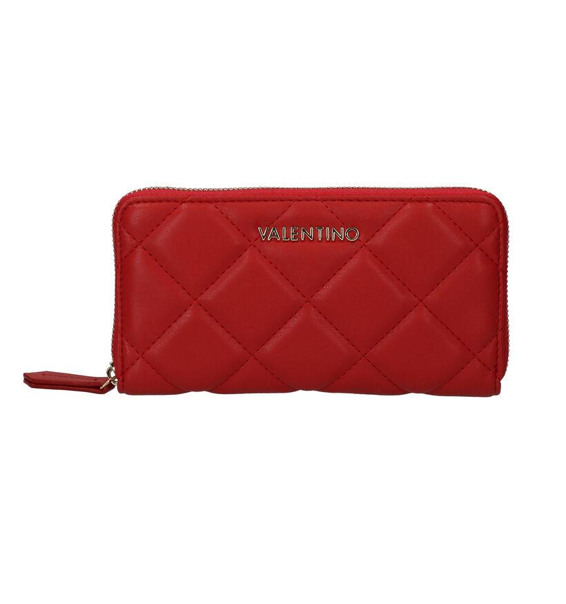 Valentino Handbags Ocarina Zwarte Ritsportemonnee in kunstleer (290903)