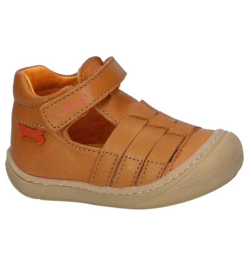 STONES and BONES Chaussures pour bébé  en Cognac en cuir (239792)