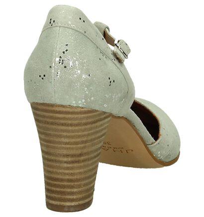 JHay Escarpins à bride en Gris clair en cuir (195329)