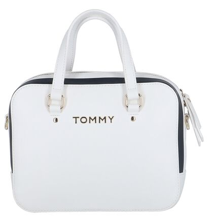 Witte Handtas Tommy Hilfiger TH Corporate Mini Trunk , Wit, pdp