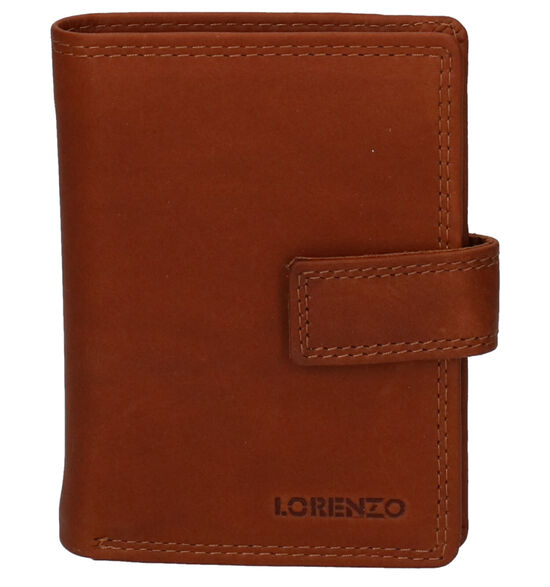 Euro-Leather Cognac Kaartenhouder