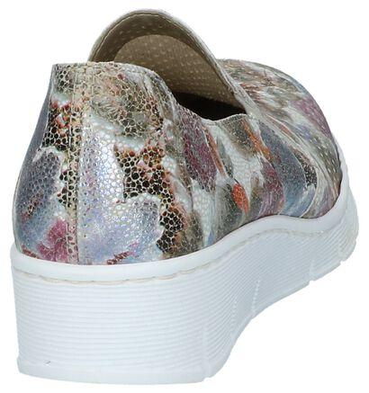 Rieker Chaussures slip-on en Multicolore en simili cuir (219760)