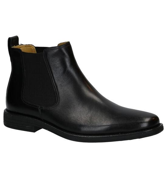 Steptronic Austin Zwarte Chelsea Boots