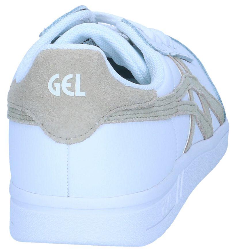Witte Lage Sneakers Gel Vickka TRS in leer (238187)